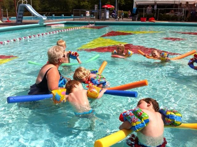 zomer zwembad peize ( bevind zich naast de camping )